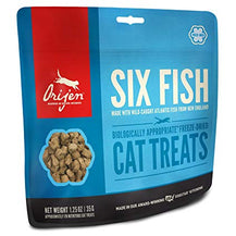 Orijen 6 Fish Cat Freeze-Dried Treats 35g