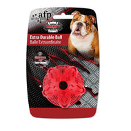 All For Paws Extra Durable Ball for Dogs (Red)