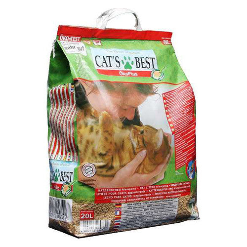 Cats Best Oko Plus Clumping Cat Litter Absolute Pets