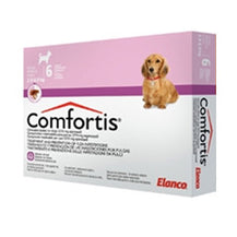 Comfortis Chewable Flea Tablets (Dogs 2.3-4.5kgs)