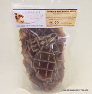 The Lekker Barkery Ostrich Mini Round Bites