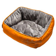 Rogz  Luna Podz Lap Dog Bed Orange Paw