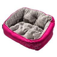 Rogz  Luna Podz Lap Dog Bed Pink Heart