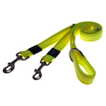 Rogz Utility Reflective Dog Multi-Lead Dayglo Yellow