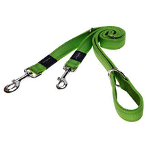Rogz Utility Reflective Dog Multi-Lead Lime