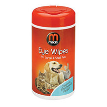Mikki Eye Wipes - Small and Large Pets