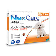 NexGard Chewables Dog (2-4kg)