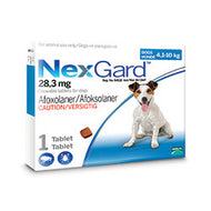 NexGard Chewables Dog (4-10kg)