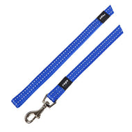 Rogz Utility Reflective Fixed Dog Lead Blue