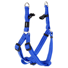 Rogz Utility Reflective Step In Dog Harness Blue