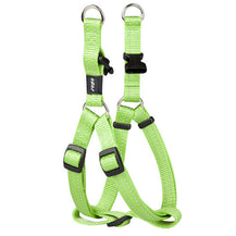 Rogz Utility Reflective Step In Dog Harness Lime