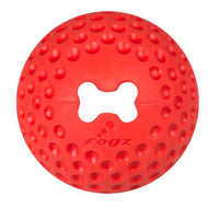 Rogz Gumz Dog Treat Ball - Red
