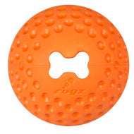 Rogz Gumz Dog Treat Ball - Orange