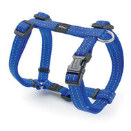 Rogz Utility Reflective Dog H-Harness Blue