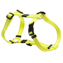Rogz Utility Reflective Dog H-Harness Dayglo Yellow