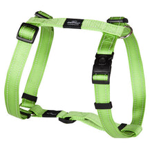 Rogz Utility Reflective Dog H-Harness Lime