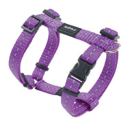 Rogz Utility Reflective Dog H-Harness Purple