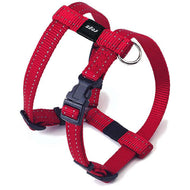 Rogz Utility Reflective Dog H-Harness Red