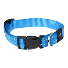 Rogz Utility Reflective Side Release Dog Collar Turquoise