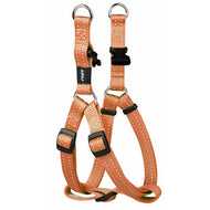 Rogz Utility Reflective Step In Dog Harness Orange