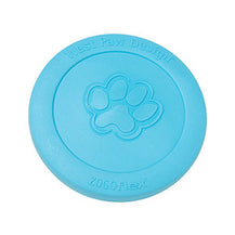 West Paw Zisc Flying disk Aqua Blue