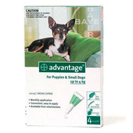 Advantage Dog (0-4kg) Small