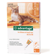 Advantage Cat (0-4kg) Small