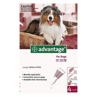 Advantage Dog (10-25kg) Large