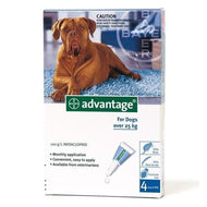 Advantage Dog (25kg+) X-Large