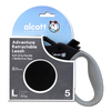 Alcott Adventure Retractable Lead (Black) - Large