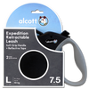 Alcott Expedition Retractable Lead Extra Length (Black) - Packaged