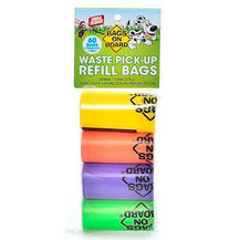 Bags on Board Dog Waste Bag Refill Rolls - Rainbow
