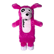 Rogz Thinz Plush Dog Toy - Pink