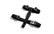 Zee.Dog Neopro Waterproof H-Harness for Dogs (Black)