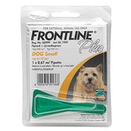 Frontline Plus Dog Tick & Flea (0-10kg) Small (Singles)