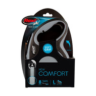 Flexi Comfort Tape Retractable Lead Large - Grey