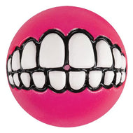 Rogz Grinz Dog Treat Ball - Pink