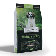 Field and Forest Turkey & Duck for Large - Giant Breed Puppies - Grain Free