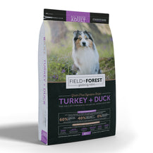 Field and Forest Turkey & Duck for Adult Dogs - Grain Free