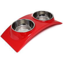 Olly & Max Medium Rainbow Dinner Set (Red)