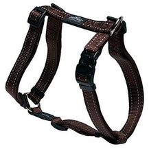 Rogz Utility Reflective Dog H-Harness Brown