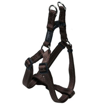 Rogz Utility Reflective Step In Dog Harness Brown