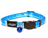 Rogz Catz Kiddycat Safeloc Breakaway Cat Collar - Royal Birds