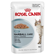 Royal Canin Feline Hairball Food Pouches in Gravy