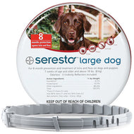 Seresto (Large Dog) Tick, Flea and Lice Collar (over 8kg)
