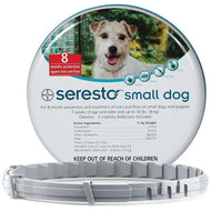 Seresto (Small Dog) Tick, Flea and Lice Collar (less than 8kg)