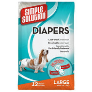 Simple Solution Diapers (Pack of 12)