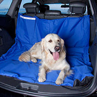 Wagworld Car Seat Protective Dog Hammock (Blue)