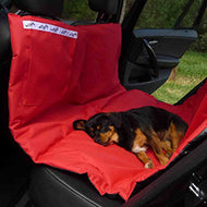 Wagworld Car Seat Protective Dog Hammock (Red)