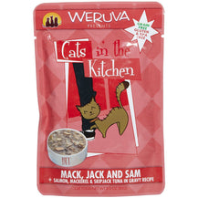 Weruva Cats in the Kitchen Mack, Jack & Sam Pouches for Cats